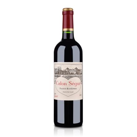 (列级庄·名庄正牌)法国卡龙情人堡2007干红葡萄酒750ml(又名:凯龙世家)