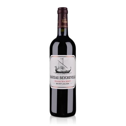 (列级庄·名庄正牌)法国龙船酒庄2007干红葡萄酒750ml(又名:碧澈)