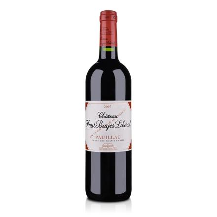 (列级庄·名庄正牌)法国奥巴里奇酒庄2007干红葡萄酒750ml(又名:奥碧)