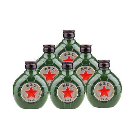 52°老战士革命小酒125ml(6瓶装)