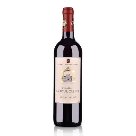 (列级庄·名庄正牌)法国拉图嘉利城堡2007干红葡萄酒750ml(又名:科通)