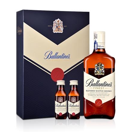 40°英国百龄坛特醇苏格兰威士忌礼盒700ml