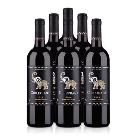 智象赤霞珠干红葡萄酒750ml(6瓶装)
