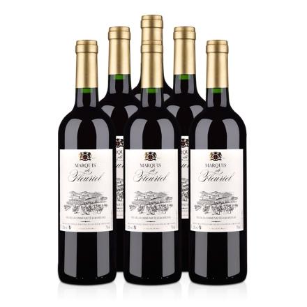 法国富乐男爵干红葡萄酒750ml(6瓶装)