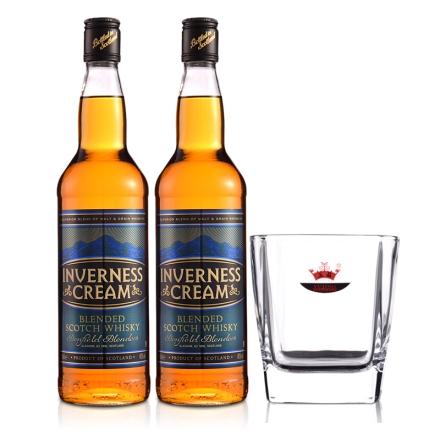 英国爱力士苏格兰威士忌700ml(双瓶装)+威士忌杯