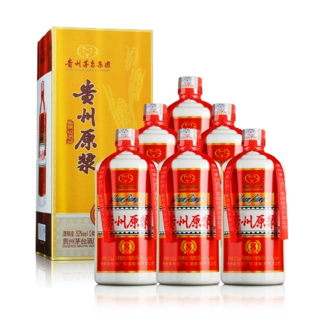 【清仓】52°茅台集团贵州原浆8V(鉴赏级酒品)500ml(6瓶装)