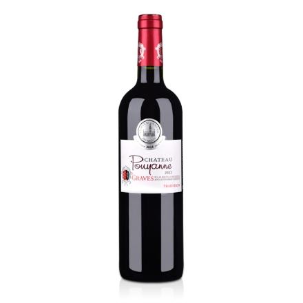 法国红酒法国波漾城堡村庄级AOC干红葡萄酒750ml