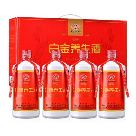 35°茅台集团白金养生酒(大礼包)500ml*4
