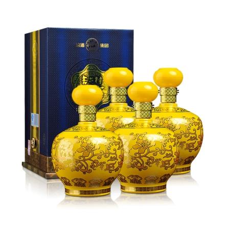 52°汾酒集团帝王黄升级版1000ml(4瓶装)