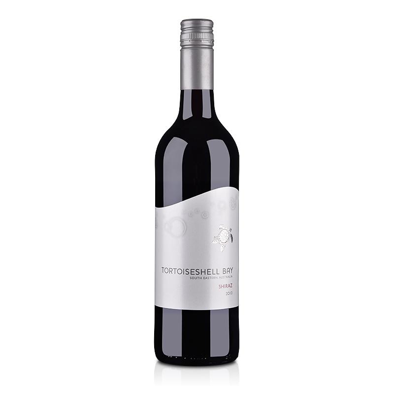澳大利亚红酒小海龟西拉红葡萄酒750ml