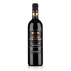 法国红酒梅多克中级庄塔法干红葡萄酒750ml