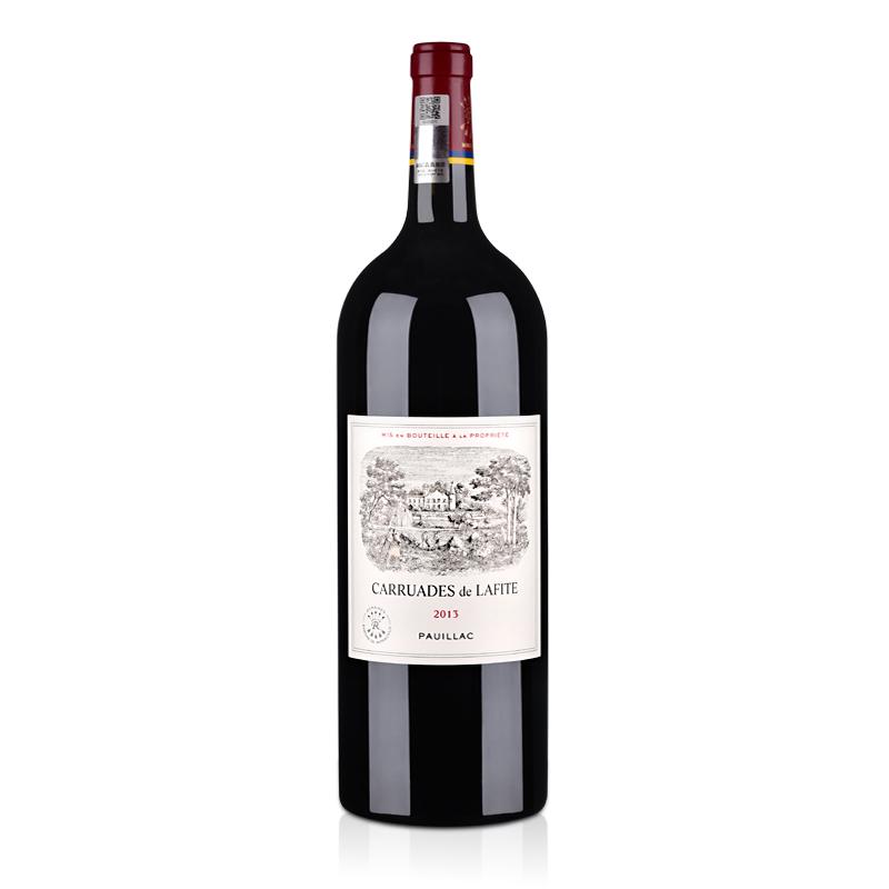(列级庄·名庄·副牌)法国拉菲罗斯柴尔德珍宝干红葡萄酒1500ml 2013(又译:小拉菲)