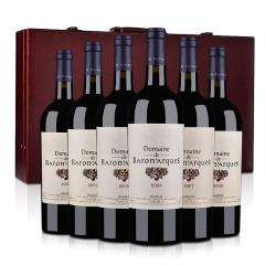 【红酒礼盒】法国木桐雅克男爵干红2003-2008垂直年份六支礼盒装