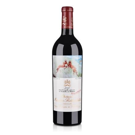 (列级庄·名庄·正牌)法国木桐城堡2012干红葡萄酒750ml