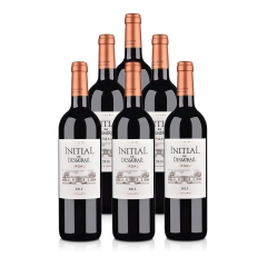 (列级庄·名庄·副牌)法国狄士美酒庄干红葡萄酒750ml(6瓶套装)