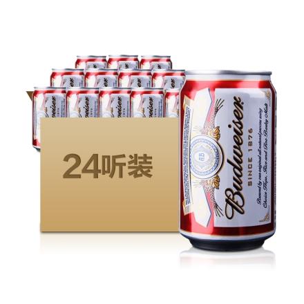 百威啤酒330ml(24瓶装)