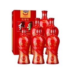 50°红星红15陈酿500ml(6瓶装)