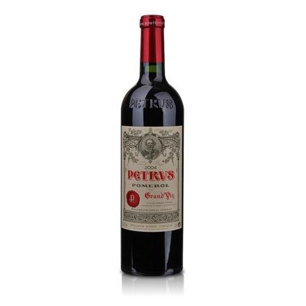 (列级庄·名庄·正牌)法国柏图斯酒庄2004干红葡萄酒750ml(又名帕图斯、柏翠)