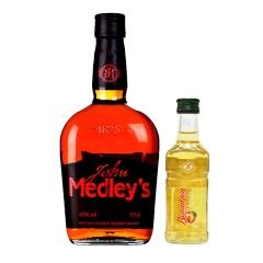 40°美国尊万德利肯塔基纯正波本威士忌700ml+ 20°德国百人城经典苹果酒(乐享)100ml