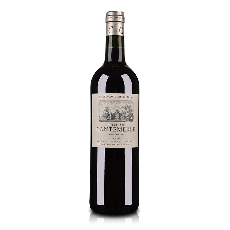 法国红酒(列级庄·名庄·正牌)法国佳德美城堡2012红葡萄酒750ml(又名:佳得美)