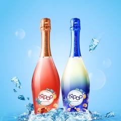 长城悦POP低醇桃红起泡葡萄酒750ml+ 长城悦POP低醇白起泡葡萄酒750ml