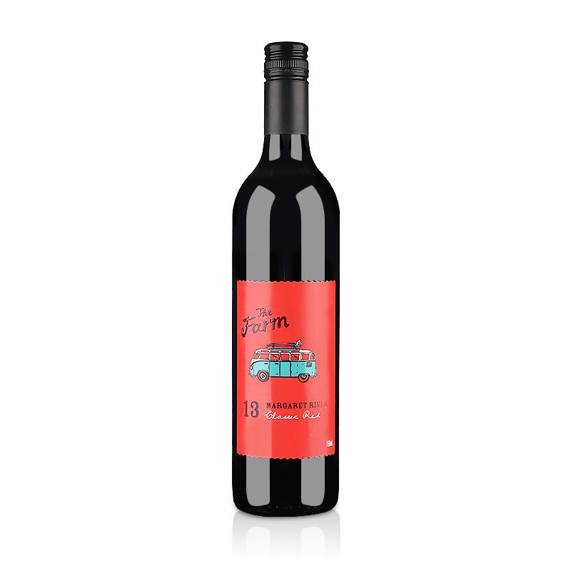 【清仓】澳大利亚红酒分水岭酒庄农场经典红葡萄酒750ml