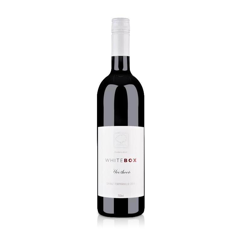 【清仓】澳大利亚红酒斯图亚特酒庄小白盒西拉丹魄干红葡萄酒750ml