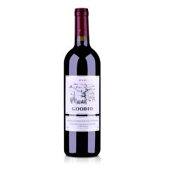 法国戈蒂干红葡萄酒750ml