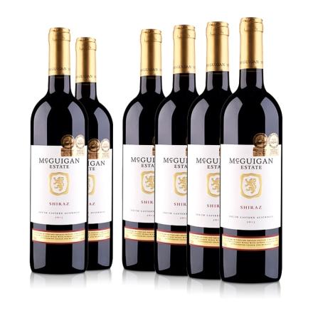 (清仓)澳大利亚麦格根.庄园西拉红葡萄酒750ml (6瓶装)