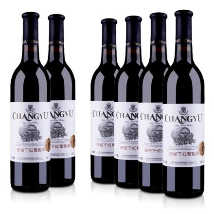 【品质红酒节】中国张裕干红葡萄酒750ml(6瓶装)