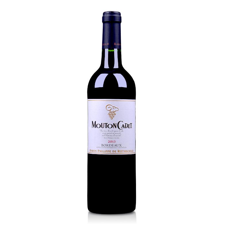 【自营】法国红酒木桐嘉棣红葡萄酒750ml(又名:法国木桐嘉隶红葡萄酒750ml)