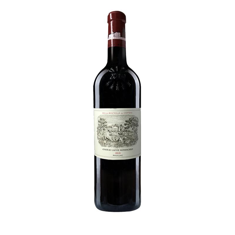(列级庄·名庄·正牌)法国拉菲酒庄2010干红葡萄酒750ml(又译:大拉菲、拉菲古堡)