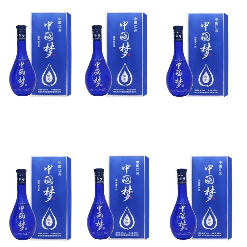 42°中国梦传奇白酒500ml*6瓶
