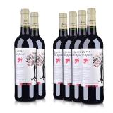 法国(原瓶进口)法圣古堡天使树干红葡萄酒750ml(6瓶装)