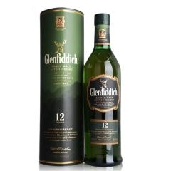 40°英国格兰菲迪12年单一麦芽威士忌700ml