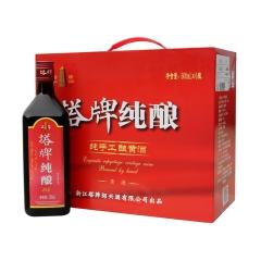 13.5°塔牌纯酿纯手工酿黄酒500ml*6