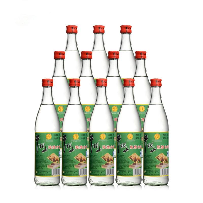 42°牛栏山陈酿白瓶500ml(12瓶装)