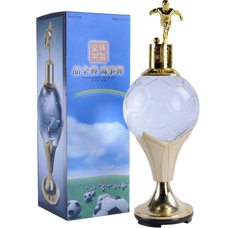 【老酒特卖】52°特制全兴(足球瓶)500ml(1999年)