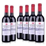 【品质红酒节】澳洲整箱红酒澳大利亚奔富洛神山庄设拉子赤霞珠红葡萄酒750ml(6瓶装)