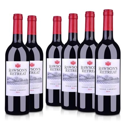 澳大利亚奔富洛神山庄设拉子赤霞珠红葡萄酒750ml(6瓶装)