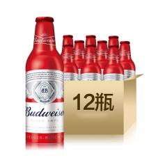 百威啤酒铝瓶355ml(12瓶装)