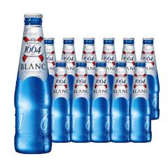 法国监制中国产克伦堡凯旋1664白啤酒330ml*12