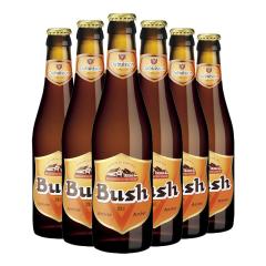 比利时进口布什琥珀色啤酒(Bush)12°烈性啤酒330ml*6