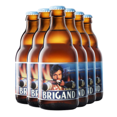 比利时进口匪徒啤酒(Brigand)330ml*6