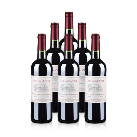 法国原瓶进口葛雷奥利干红葡萄酒750ml(6瓶装)