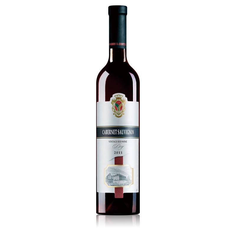 黄金鲟摩尔多瓦窖藏一年赤霞珠干红葡萄酒750ml