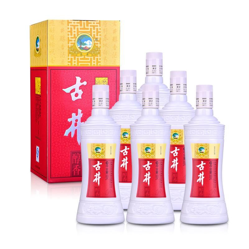 50°古井贡醇香500ml(6瓶装)