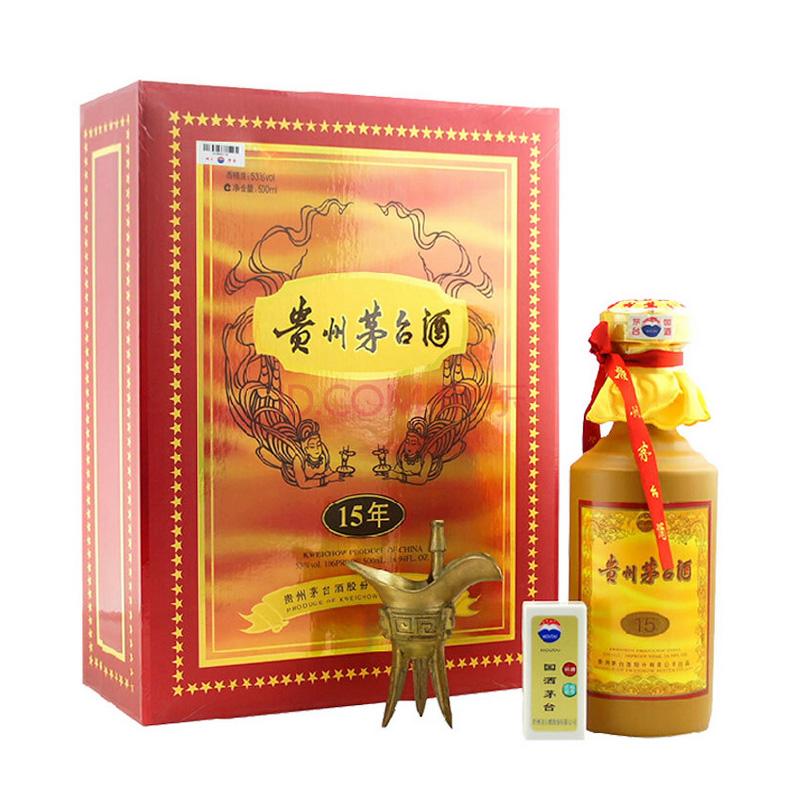 53°贵州茅台十五年 15年陈酿 年份酒500ml(2011年产)