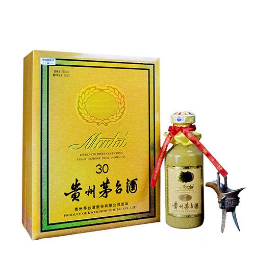 53°贵州茅台三十年 30年陈酿 年份酒500ml(2011年)