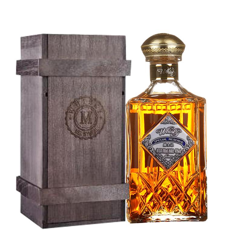 41°国产梅赛宝威士忌700ML (送木礼盒)
